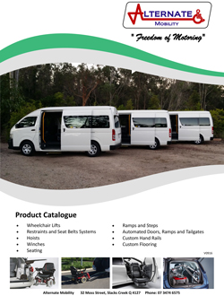 ALTERNATE MOBILITY CATALOGUE 2016