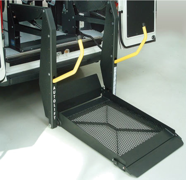 BB-Range-for Electric Wheelchair. The Platform style unit is not only easy to use, but its one piece design makes it a very sturdy and stable product.