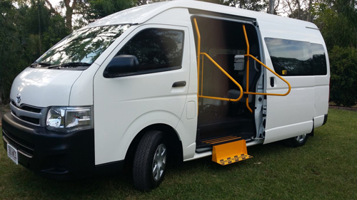 Hand Rails, Steps and Floors installed in Toyota Commuter