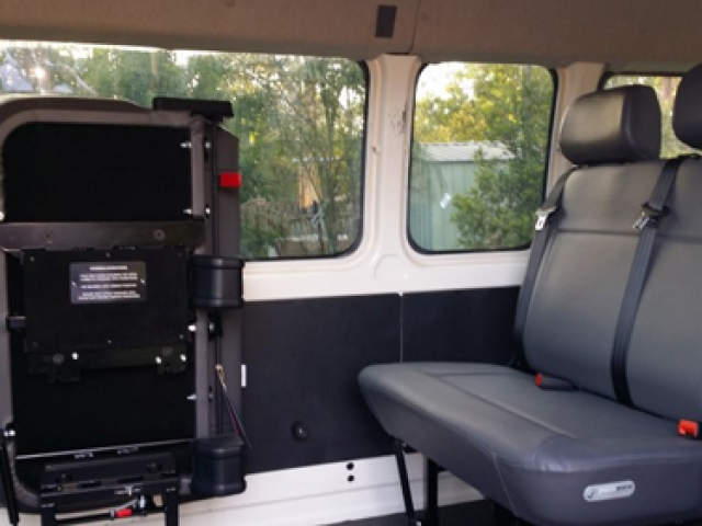 Seating and Floors installed in Toyota Commuter
