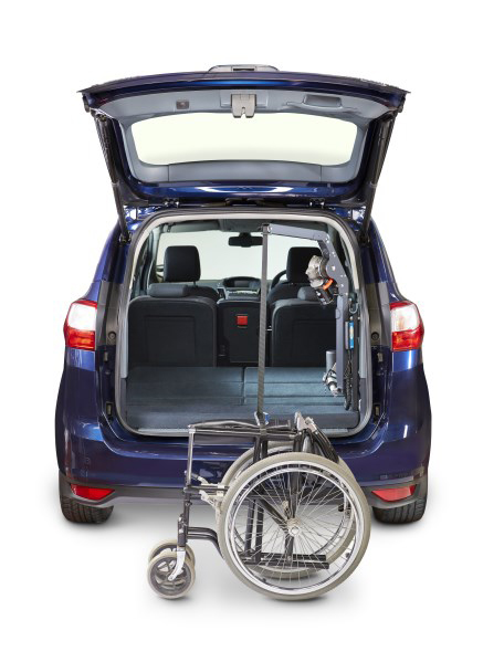 Autochair - The  Mini Lift  is  a great solution for lifting and storing mini scooters or wheel chairs with ease. The  Mini  ranges comes in 2 sizes, 40KG and 80KG.
