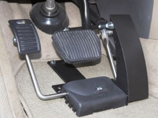 Pedals for mobility vehicles