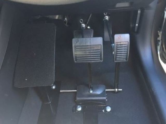 Pedal extensions are also available to suit manual and automatic models