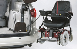 Mobility Hoists & Lifting Cranes for Wheelchairs & Scooters