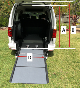 Focaccia Kit for Vehicle Wheelchair Conversion