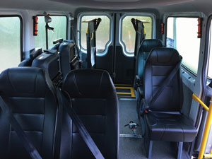 Seating - Mercedes Sprinter Van Fitout - Alternate Mobility