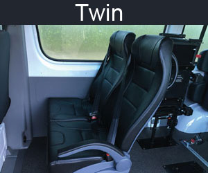 Twin Seating - Mercedes Sprinter Van Fit Out